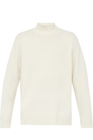 Raey Loose-fit Funnel-neck Cashmere Sweater - Mens - Ivory