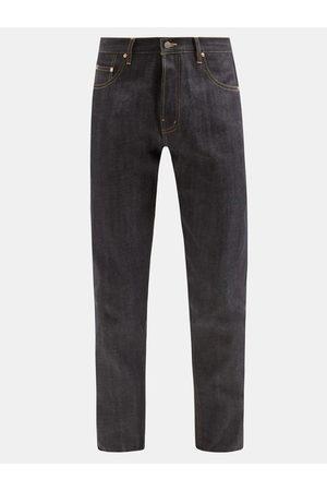 Raey Raw Selvedge Denim Slim-leg Jeans - Mens - Indigo