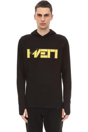 Hærværk Men Hoodies - 3d Patch Slim Fit Sweatshirt Hoodie