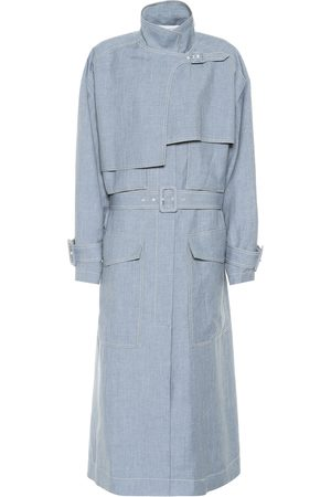 Joseph Warrick linen, wool and silk coat