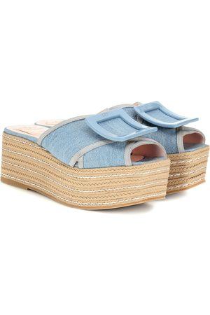 Roger Vivier Biki Viv' 70 espadrille sandals