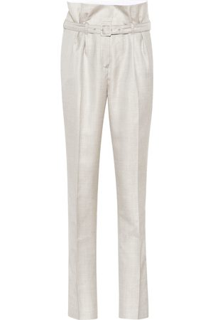 GABRIELA HEARST Beatrice high-rise straight pants