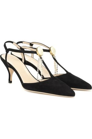 MAGDA BUTRYM Macedonia suede pumps