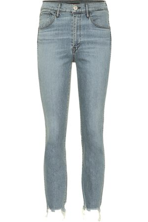 3x1 Women High Waisted - W3 Authentic cropped high-rise jeans