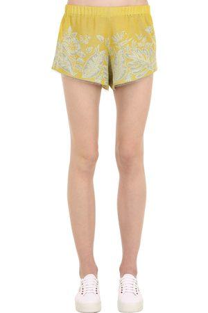 Alanui Hawaiian Dream Jacquard Shorts