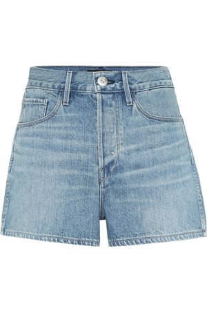 3x1 Carter high-rise denim shorts