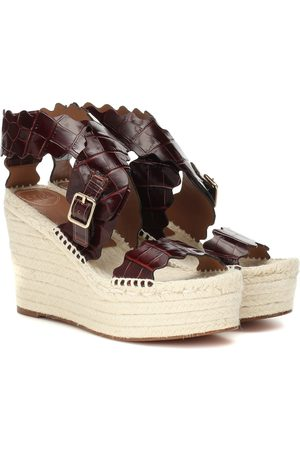 Chloé Leather espadrille sandals