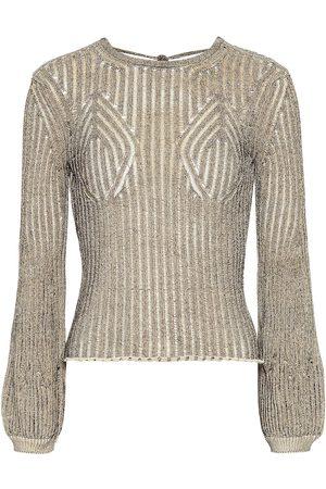 Chloé Cotton-blend knit top