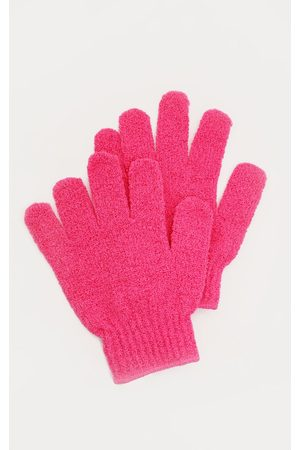 PRETTYLITTLETHING Women Gloves - Cocoa Brown Tan Removal Exfoliating Gloves