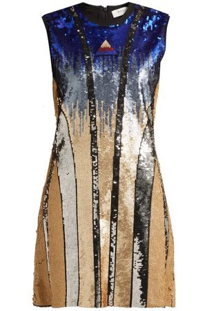 Sportmax Ghiera Sequin Embellished Mini Dress - Womens - Multi
