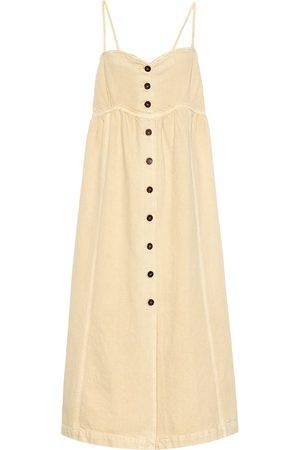 Nanushka Kaia cotton twill midi dress