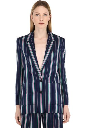 Nina Ricci Fluid Striped Jacket