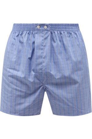 DEREK ROSE Classic Fit Checked-cotton Boxer Shorts - Mens - Multi