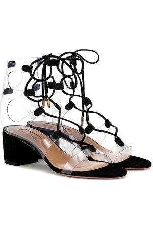 Aquazzura Milos 50 PVC sandals