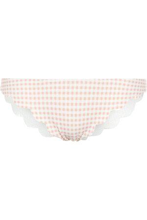 Marysia Broadway gingham bikini bottoms