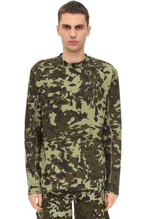 Nike Matthew Williams Aop Camo Print T-shirt