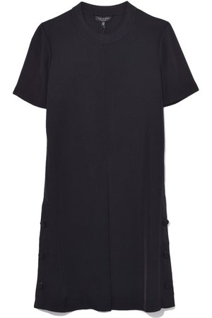 RAG&BONE Aiden Tee Shirt Dress in Black