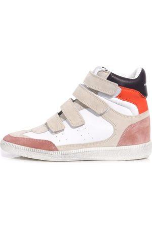 Isabel Marant Bilsy Sneaker in Papaya