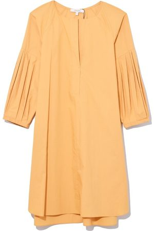 Dorothee Schumacher Papertouch Ease Dress in Honey Yellow