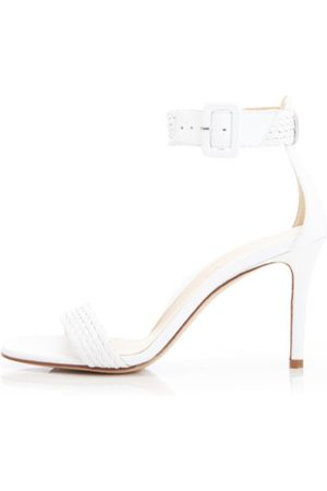 Marion Parke Florence Heel in White
