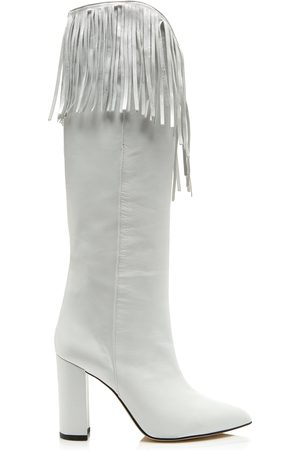 4a9dff0d52ae PARIS TEXAS Fringed Leather Boots