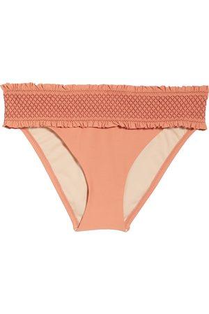 Chelsea Women's Smocked Hipster Bikini Bottoms
