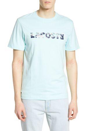 Lacoste Men's Classic Fit Hawaiian Print Logo T-Shirt