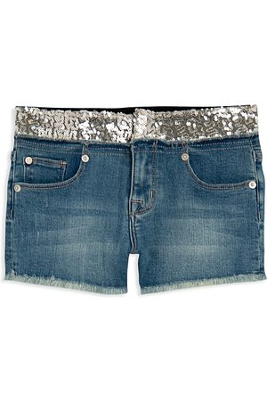 Hudson Girls' Glitz Denim Shorts - Little Kid