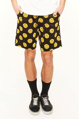 Forever 21 Happy Face Drawstring Shorts