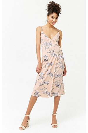 Forever 21 Floral Surplice Maxi Dress