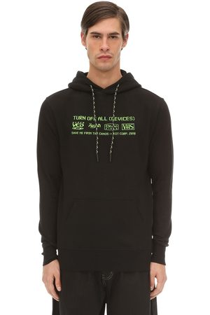 TDT - TOURNE DE TRANSMISSION Device Embroidered Sweatshirt Hoodie