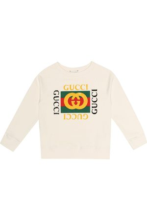 Gucci Printed cotton sweatshirt