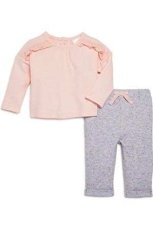 Bloomie's Sets - Girls' Polka-Dot Pants & Ruffled Top Set, Baby - 100% Exclusive