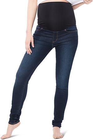 Nom Maternity Women Skinny - Soho Over-the-Belly Skinny Jeans in Dark