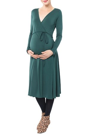 Nom Maternity Women Dresses - Tessa Nursing Wrap Dress