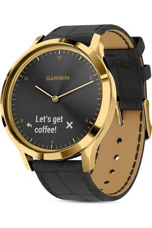 Garmin Vivomove Hr Polished Gold Touchscreen Hybrid Smartwatch, 43mm
