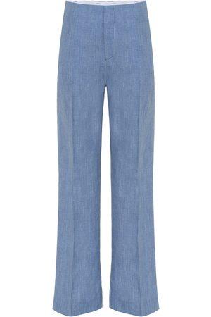 Joseph Kirk linen, wool and silk pants