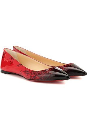 Christian Louboutin Exclusive to Mytheresa – Ballalla patent leather ballet flats