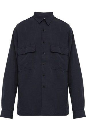 Raey Drapey Shirt - Mens - Navy