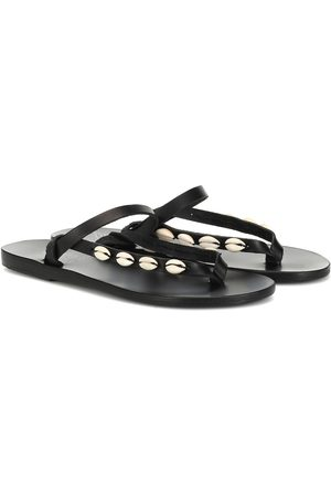 Ancient Greek Sandals Exclusive to Mytheresa – Mirsini embellished leather sandals