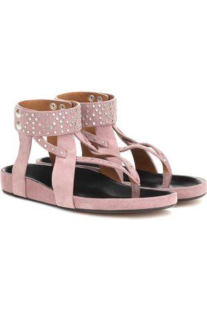 Isabel Marant Ellan embellished suede sandals