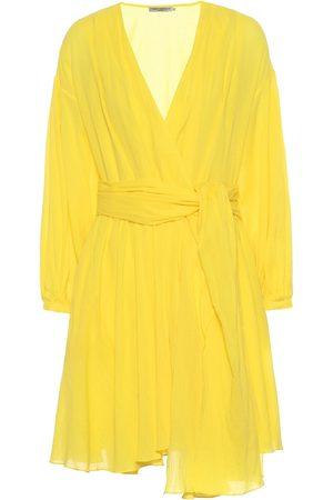Three Graces London Women Dresses - Carina cotton wrap dress