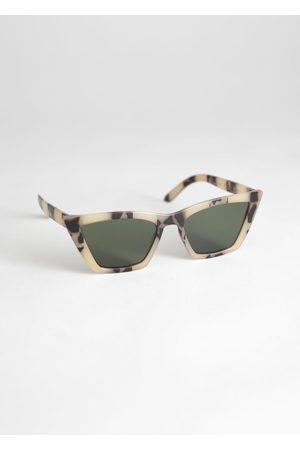 & OTHER STORIES Angular Cat Eye Sunglasses