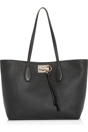 Salvatore Ferragamo Women Purses - Studio Medium Leather Tote
