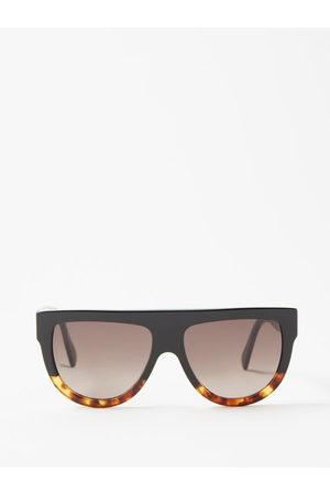 Céline Women Sunglasses - Aviator D Frame Acetate Sunglasses - Womens - Multi