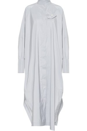 Jil Sander Striped sateen shirt dress