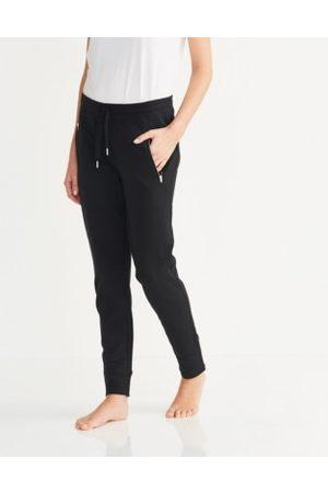The White Company Women Sweatpants - Zip-Detail Jersey Joggers
