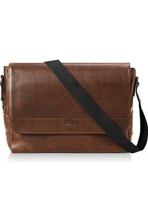 SHINOLA Navigator Leather Slim Messenger Bag