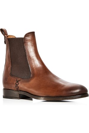 Frye Women's Melissa Leather Chelsea Booties