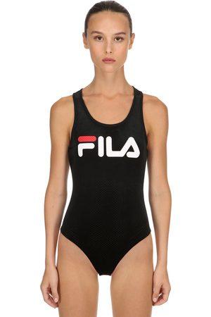 Fila Lupita Cotton Blelnd Velour Bodysuit